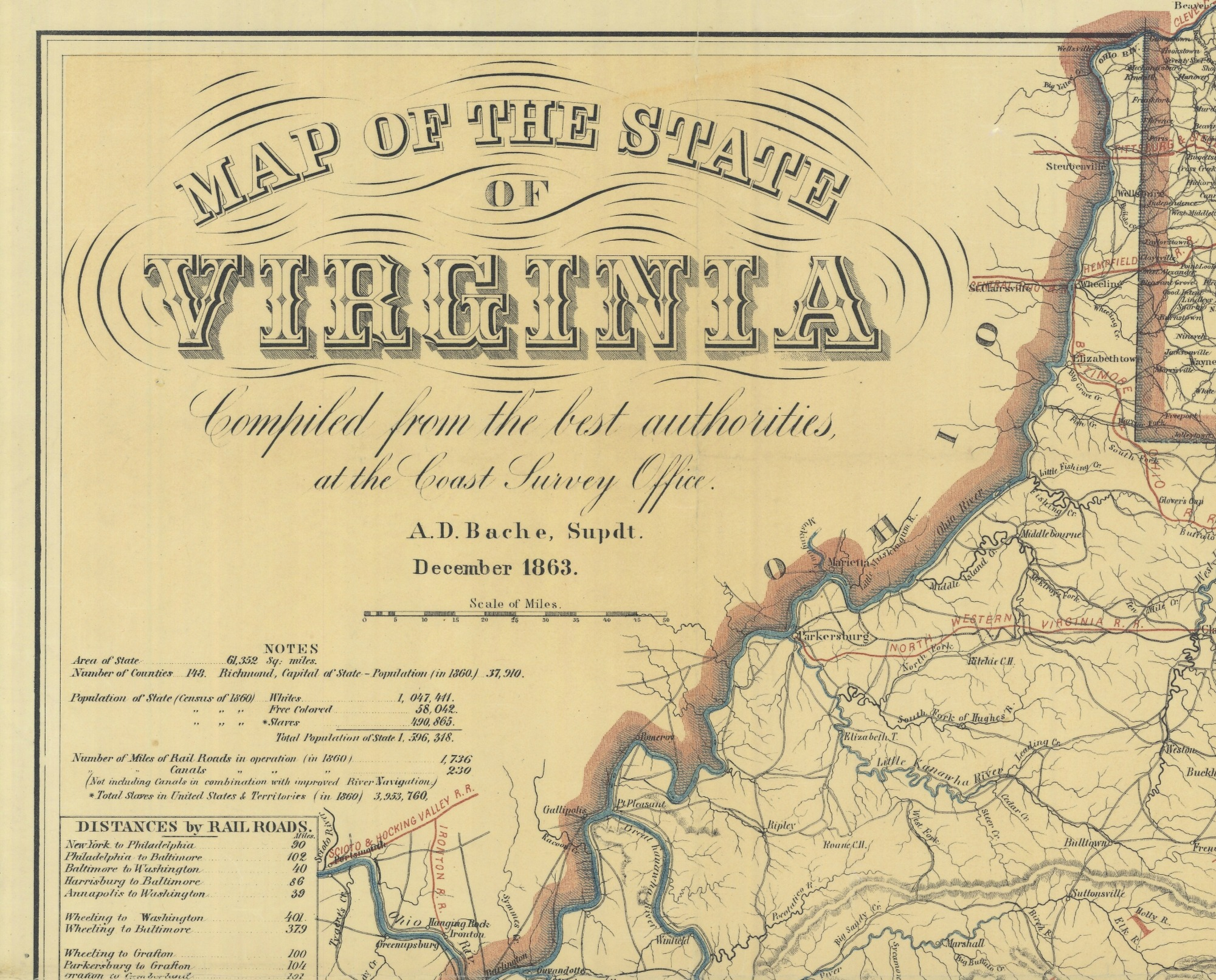 The Many Maps In Spielbergs Lincoln Mapping The Nation Blog - Vintage map of virginia
