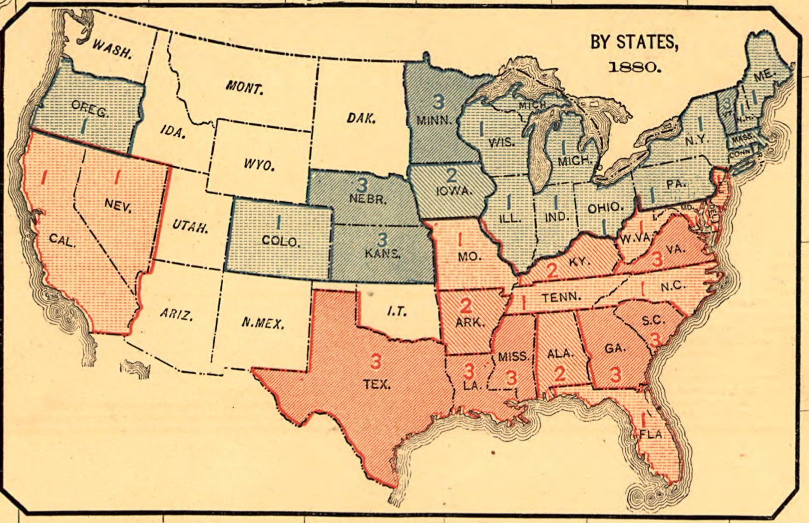 The twisted history of political mapping Mapping the Nation Blog