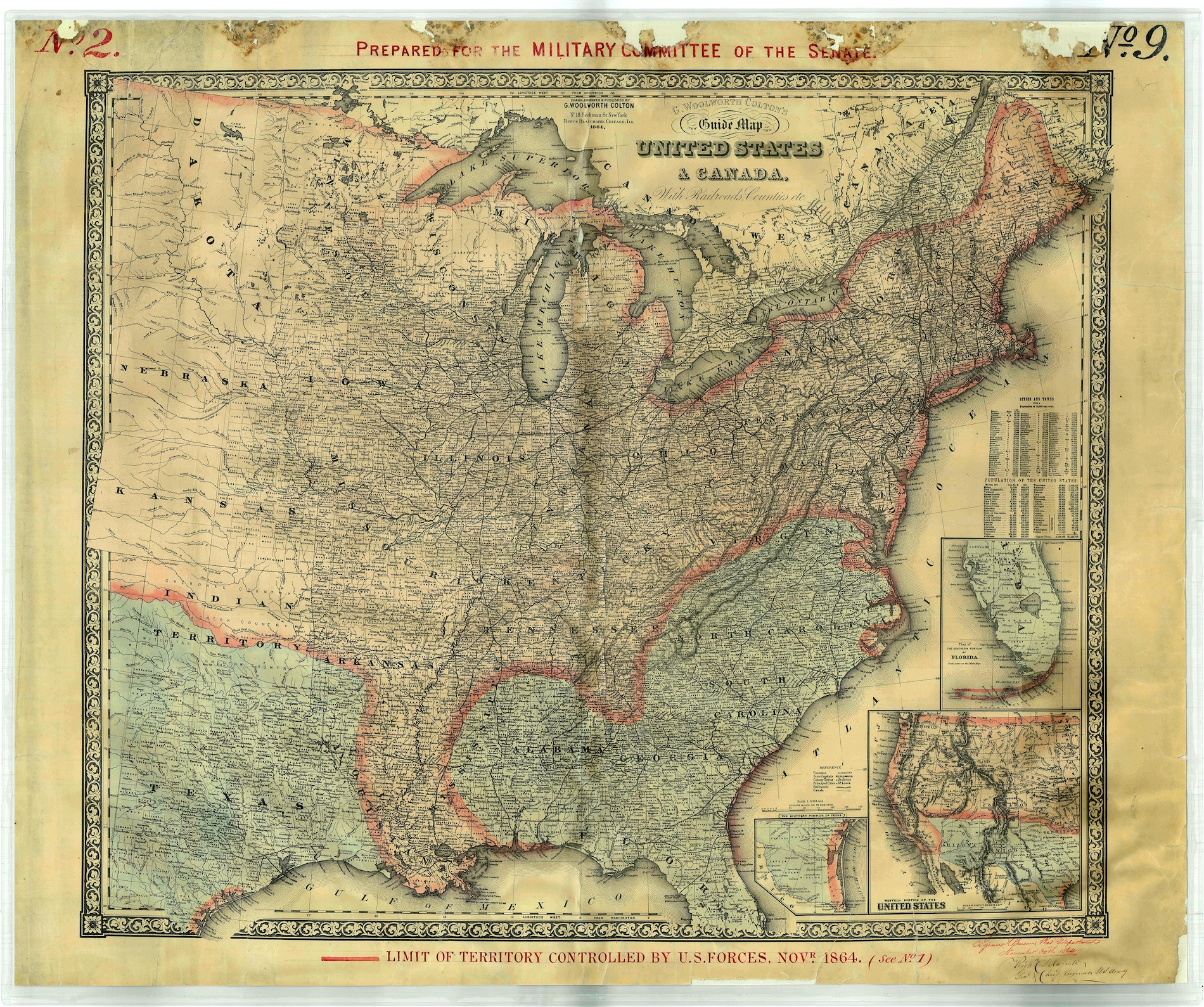 Map 2 November 1864 resized
