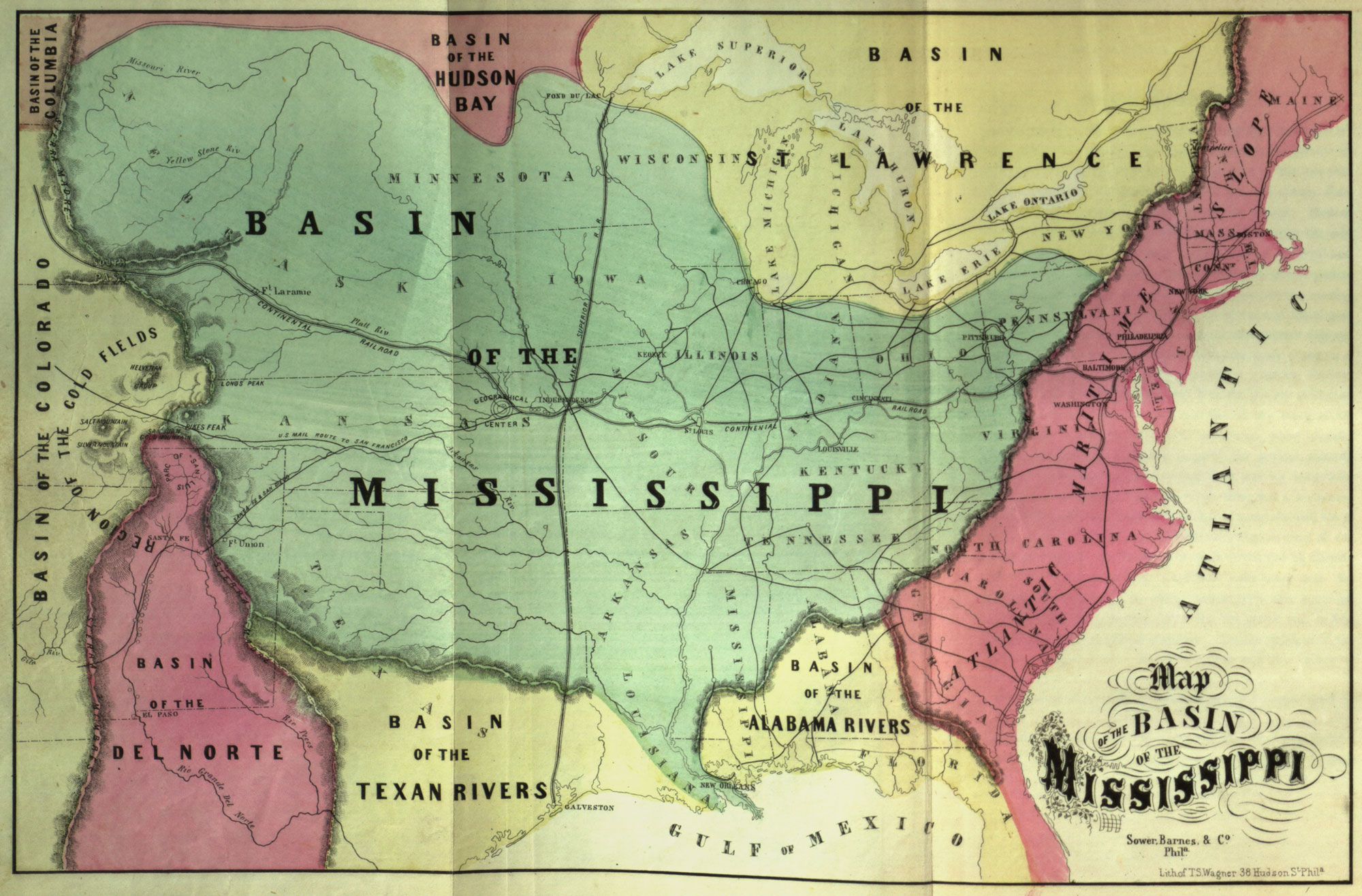 An alternative map of the American west Mapping the Nation Blog