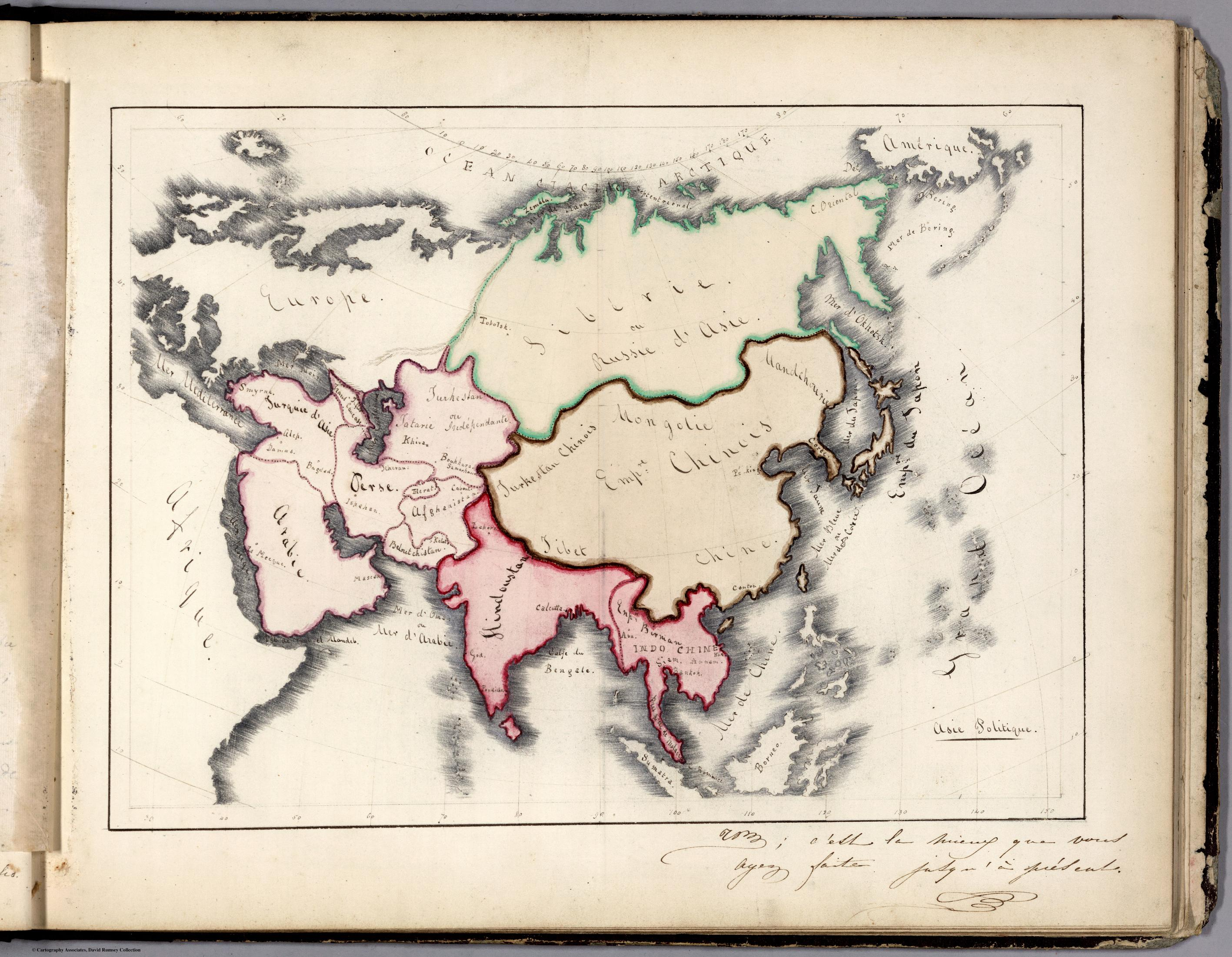 Marianne Hunt 1844 Asia Politique