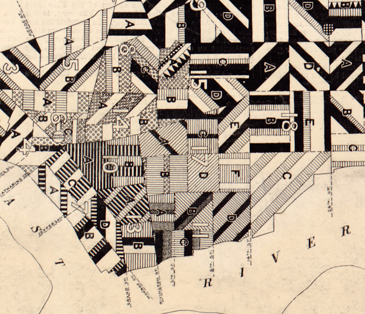 Pierce Sanitary Map 1894 detail