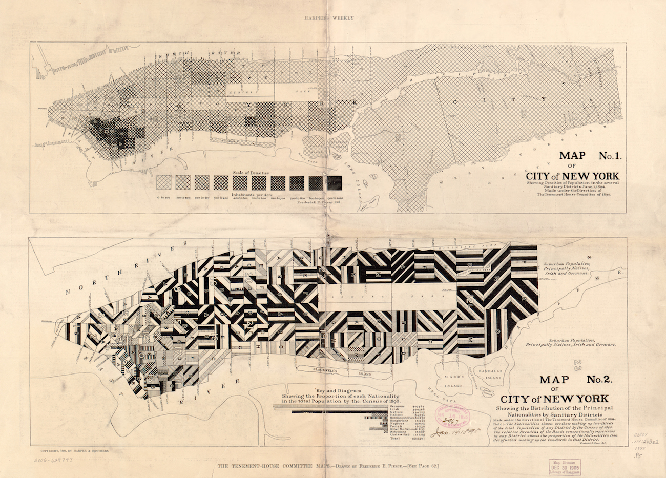 Maps Of Gilded Age San Francisco Chicago And New York Mapping - Chicago map new york