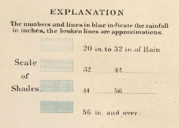 Schott Rain Chart Rumsey legend2
