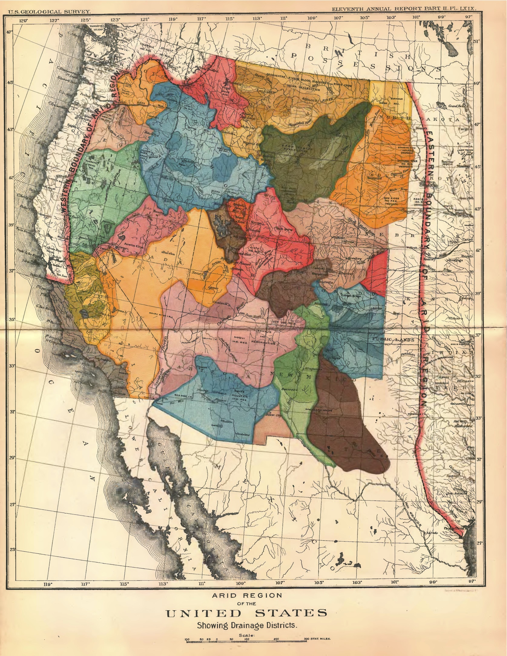 An Alternative Map Of The American West Mapping The Nation Blog - Us map western region